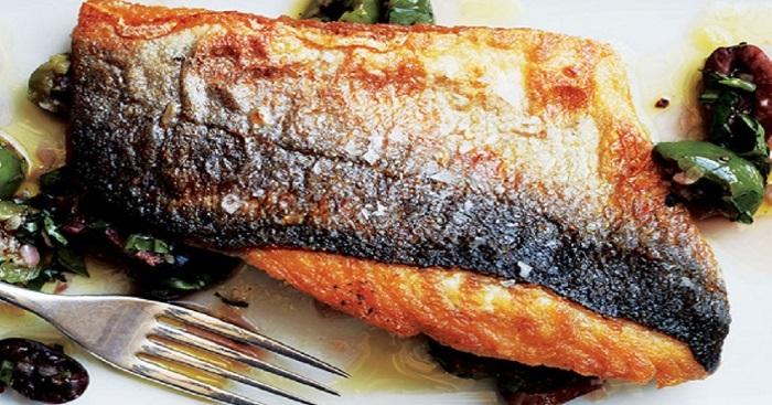 Жарим рыбу