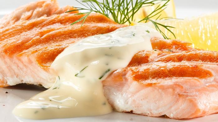 Белый соус к рыбе