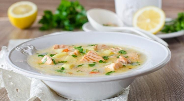 Норвежский суп из семги со сливками рецепт