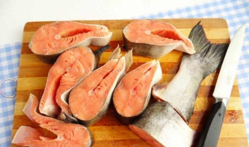Измельчение рыбы