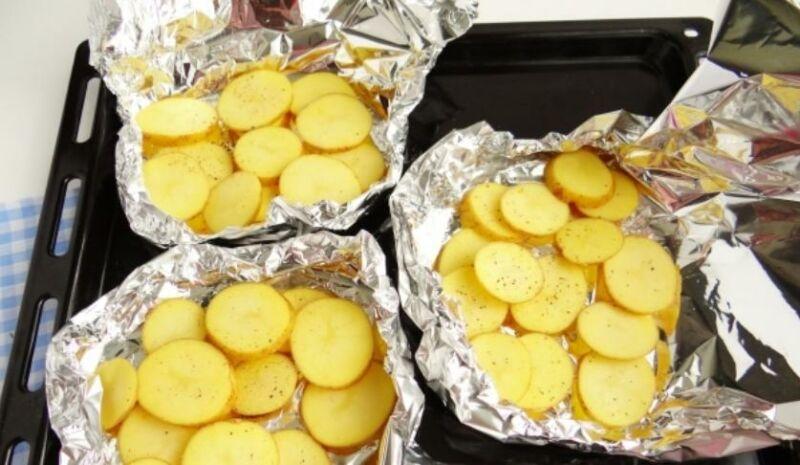 Картофель на три порции