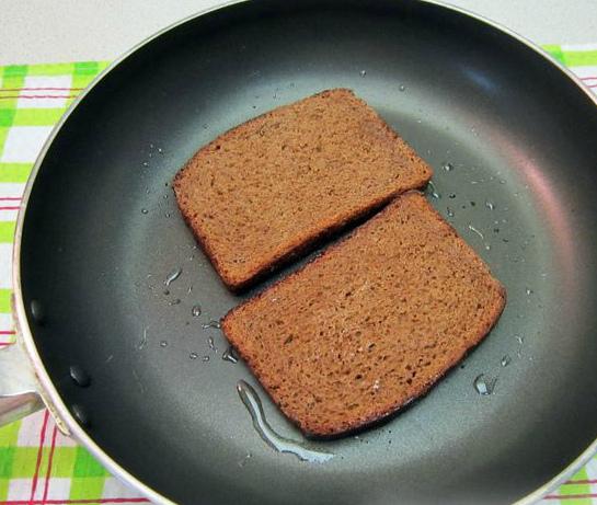 Обжарка хлеба