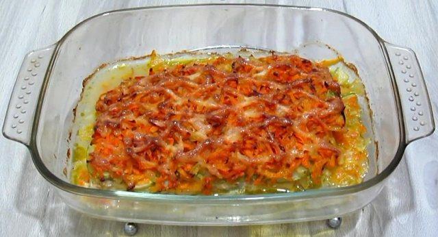 Ставим блюдо в духовку на 20 минут