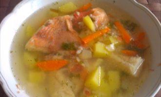 Ярки и насыщеный суп