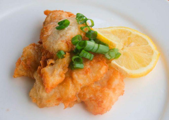 Картофельное тесто для рыбы