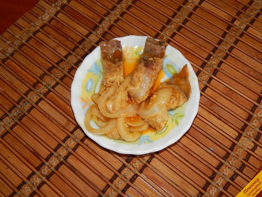 Селедка по-корейски (пошаговый рецепт с фото)
