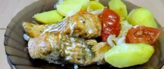 Форель запеченная в духовке с картошкой – рецепты приготовления