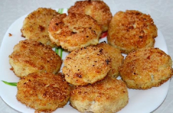 Рыбные котлеты из трески: классический рецепт