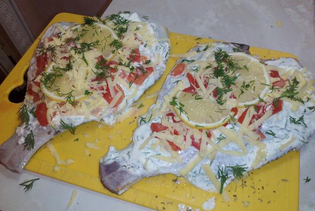 Фото к рецепту: Камбала в духовке