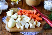 Фото приготовления рецепта: Рыбный суп из хека - шаг №2