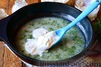 Фото приготовления рецепта: Рыбный суп из хека - шаг №14