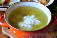 Фото приготовления рецепта: Рыбный суп из хека - шаг №16