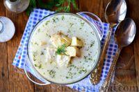 Фото приготовления рецепта: Рыбный суп из хека - шаг №18