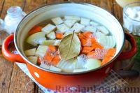 Фото приготовления рецепта: Рыбный суп из хека - шаг №6