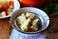Фото приготовления рецепта: Рыбный суп из хека - шаг №8