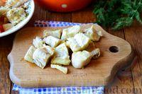 Фото приготовления рецепта: Рыбный суп из хека - шаг №9