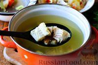 Фото приготовления рецепта: Рыбный суп из хека - шаг №10