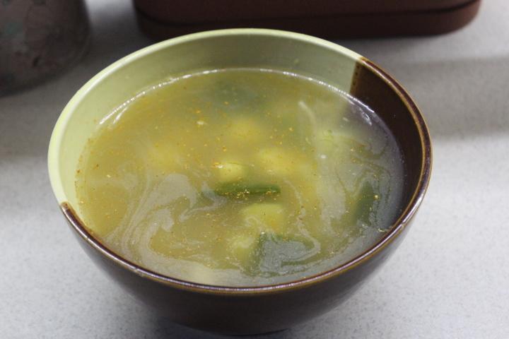 Суп с хеком