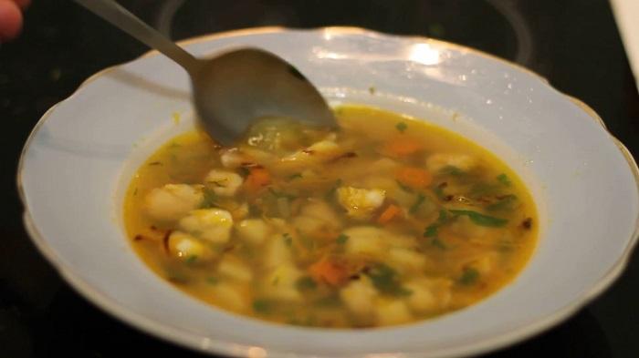 Суп из хека для ребенка