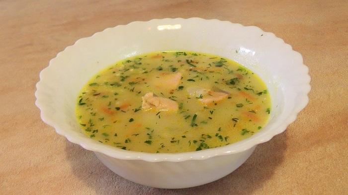 Рыбный суп из хека рецепт