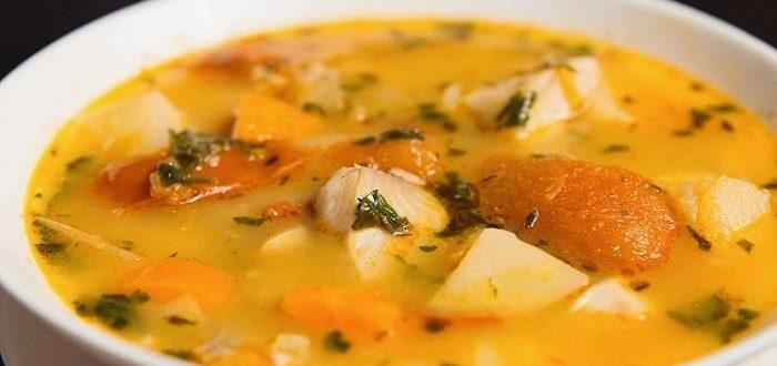 суп из хека рецепт