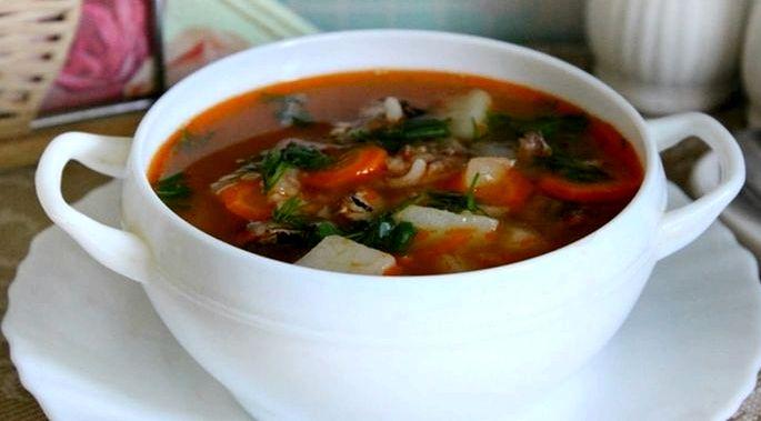 Суп с килькой в томатном соусе рецепт смесью или болгарским