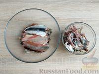 Фото приготовления рецепта: Жареная салака в кляре - шаг №2