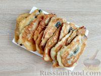 Фото приготовления рецепта: Жареная салака в кляре - шаг №13