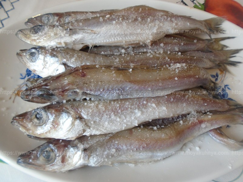 Посолка рыбы