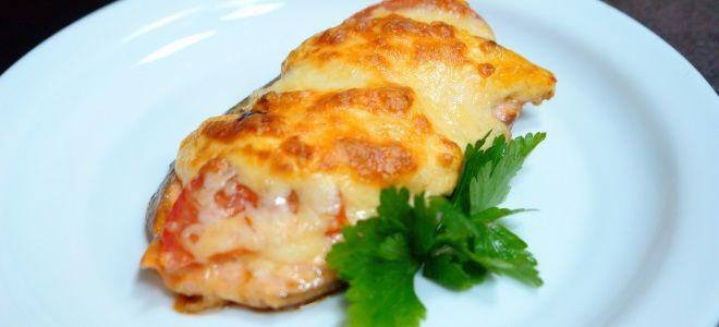 Пангасиус в духовке с сыром