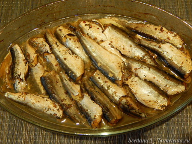 Рецепт салаки запеченной в духовке