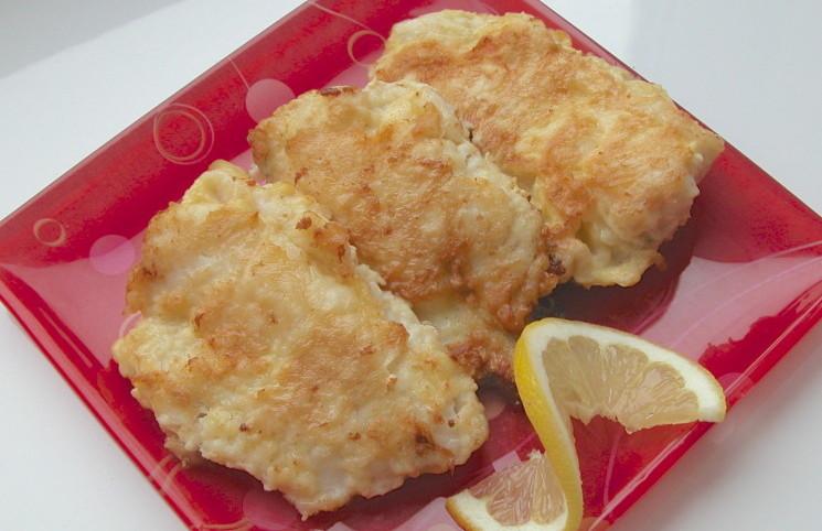 Рыба в яичной панировке