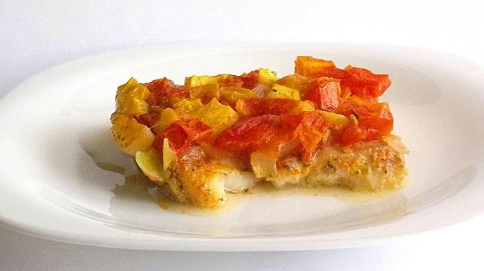 Филе пангасиуса, запеченное в духовке в фольге
