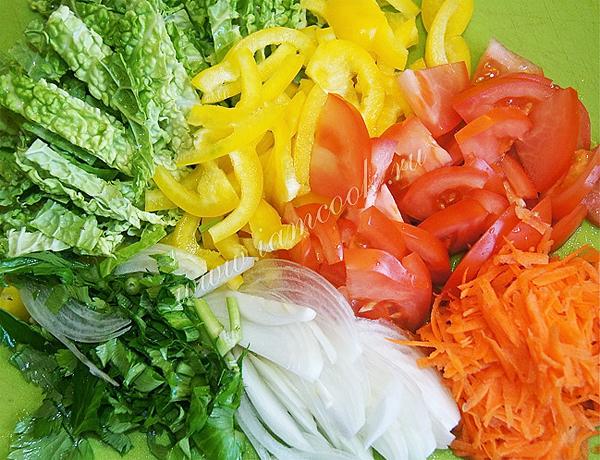 Филе пангасиуса, запеченное в духовке с овощами 1