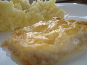 Пангасиус под сыром