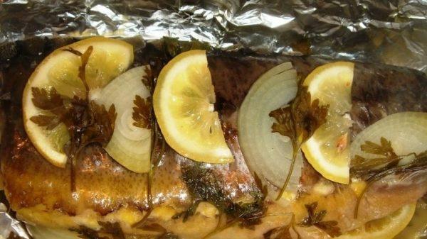 рыбка готова