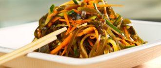 Салат из морской капусты – рецепты простые и вкусные