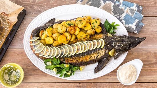 Угощение с рыбой по-царски