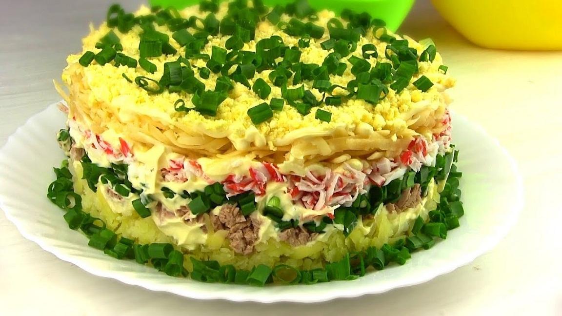 руцепты салата