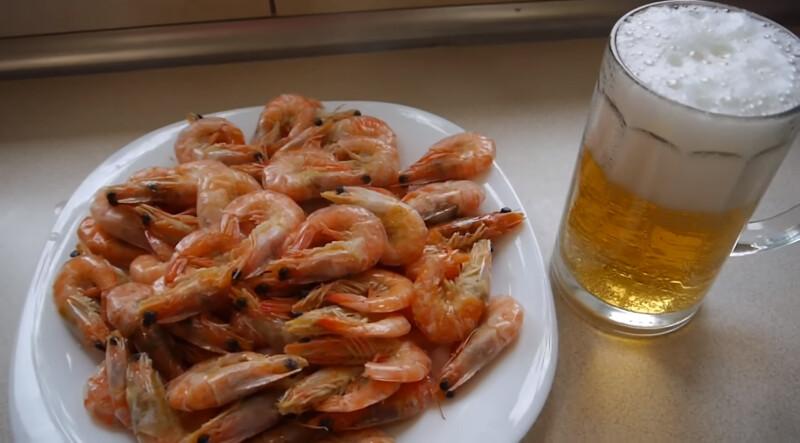 Как варить аргентинские красные креветки к пиву