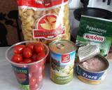 Паста с тунцом, оливками и помидорами Черри - 1 фото