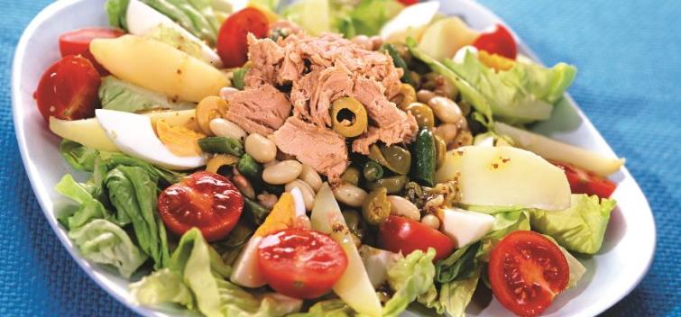 Салат нисуаз с тунцом классический рецепт