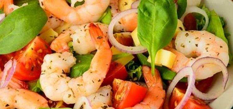 Салат с креветками самый вкусный рецепт