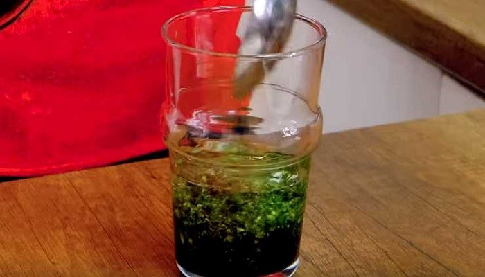 соус в стакане