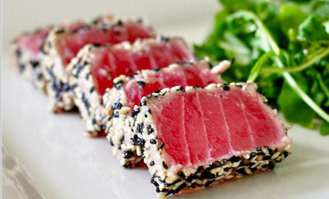 стейк из тунца рецепты с фото