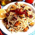 Паста с мидиями в сливочном соусе – рецепт приготовления