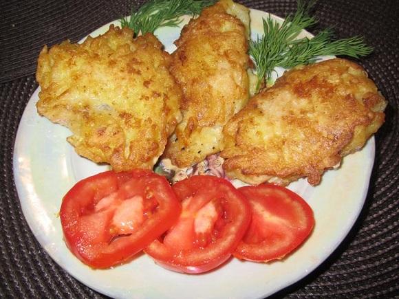 Филе минтая кляре – самый простой рецепт