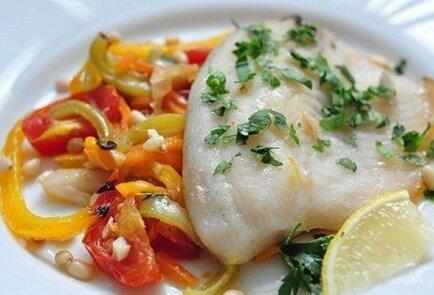 Рыба в духовке с овощами – рецепты приготовления