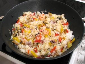 Кидаем рис
