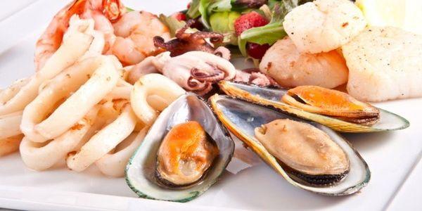 Коктейль из вареных морепродуктов